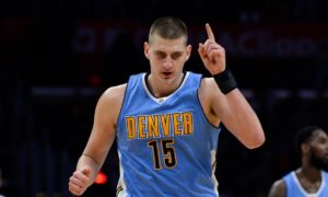 Nuggets at Clippers